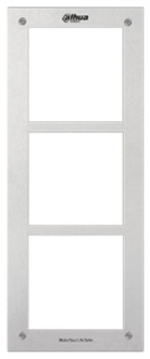 Ramka frontowa dla modułów wideodomofonowych DAHUA VTOF003 (3-modułowa)