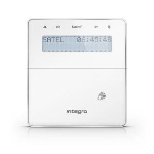 Manipulator bezprzewodowy z czytnikime zbliżeniowym SATEL INT-KWRL2-WSW - dla systemów INTEGRA Biały