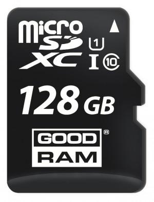 KARTA PAMIĘCI microSD GOODRAM UHS1 CL10 128GB + ADAPTER 100MB