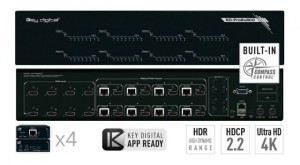Key Digital Matryca HDMI/HDBaseT 4K KD-Pro8x8CC