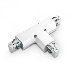 Łącznik trójnik SCENA WT1, lewy, biały