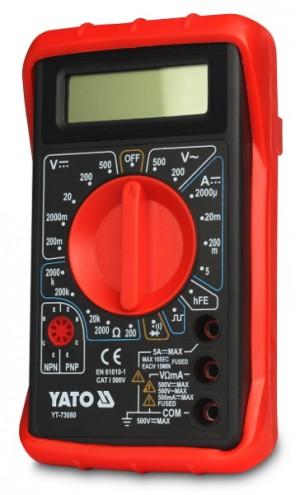 Miernik cyfrowy uniwersalny YATO YT-73080