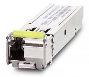 MODUŁ SFP WDM 1.25Gbps, LC SM, 10dB, (3km) TX1550/RX1310