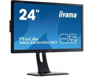 "Monitor LED IIYAMA XB2483HSU-b3 24"" AMVA HDMI USB DisplayPort"