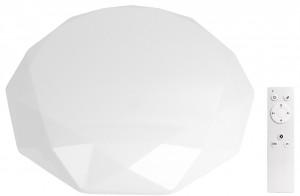 Plafon LED diament 60W 4200lm NATYNK sterowany pilotem + EFEKT GWIAZD