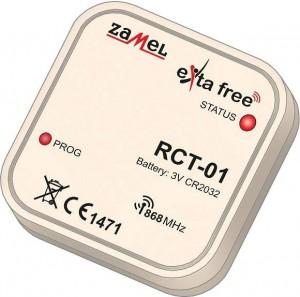 Radiowy dopuszkowy czujnik temp. EXTA FREE RCT-01