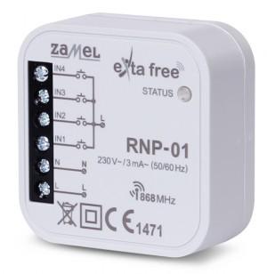Radiowy nadajnik dopuszkowy 4-kan. EXTA FREE RNP-01