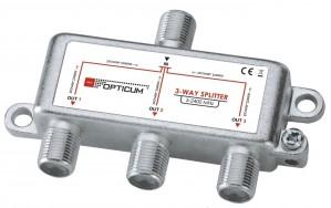 Rozgałęźnik 1-3 DVB-T SAT 3x1