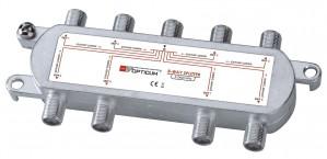 Rozgałęźnik 1-8 DVB-T SAT 8x1
