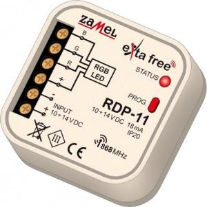Sterownik RGB bezprzew. EXTA FREE RDP-11