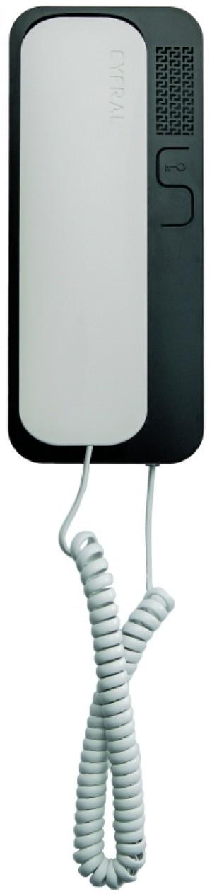 UNIFON EURA ''CYFRAL'' SMART 5P BIAŁO-CZARNY uniwersalny (4,5,6) do domofonów analogowych
