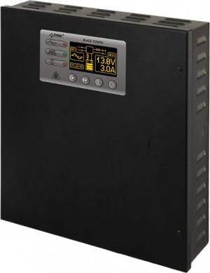 ZASILACZ BUFOROWY IMPULSOWY PULSAR PSBEN3012C/LCD 13,8V/3A/17Ah/EN/LCD GRADE3