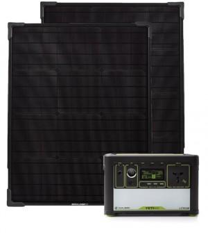 Zestaw solarny Goal Zero Yeti 400 Lithium EU universal version + Boulder 50 (2x)