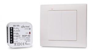 Zestaw sterowania bezprzew. EXTA FREE RZB-04 (RNK04+ROP02)