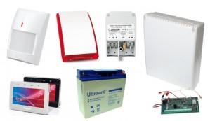 Alarm SATEL BEZPRZEWODOWY  INTEGRA 128WRL GSM 6 x PIR Syg.zew.