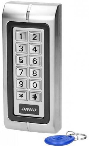 Zamek szyfrowy ORNO OR-ZS-815 wąski, z czytnikiem kart