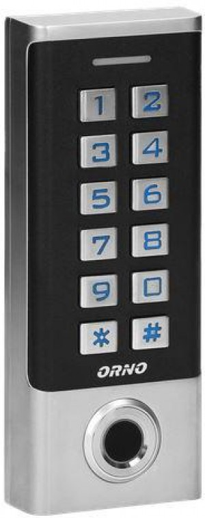 Zamek szyfrowy ORNO OR-ZS-823 z czytnikiem lini papilarnych oraz czytnikiem RFID