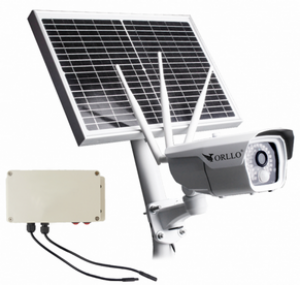 Solarna Kamera Zewnętrzna GSM LTE Akumulator ORLLO CAMSIM-2S