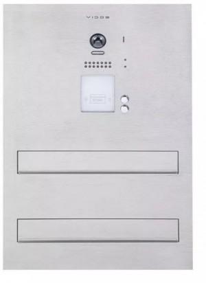 Skrzynka na listy Vidos DUO S1202A-SKM z wbudowanym wideodomofonem