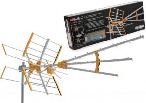 Antena DVB-T SPARTA HIRRO (BYPASS AMPLIFIER LTE VHF-UHF)