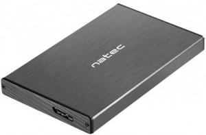 """OBUDOWA DYSKU ZEWNĘTRZNA NATEC RHINO GO SATA 2.5"""" USB 3.0 Czarna"""