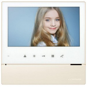 Monitor wideodomofonu COMMAX CDV-70H2 DC WHITE