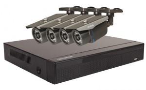 Zestaw 4x Kamera HD/IR35, Rejestrator 4ch