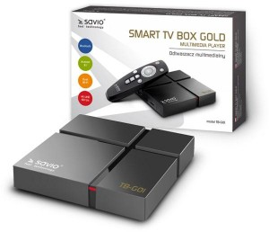 Savio Smart TV Box Gold TB-G01