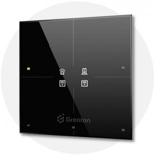 GRENTON - SMART PANEL 4B, OLED, TF-bus, CZARNY (2.0)