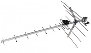 ANTENA DVB-T MITON MT-W  9-38 DB ZE WZMACNIACZEM
