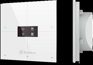 GRENTON - SMART PANEL 4B, OLED, TF-bus, BIAŁY (2.0)