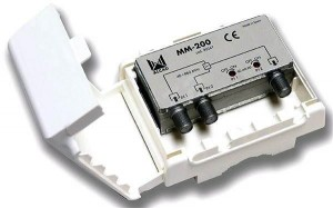 Zwrotnica masztowa Alcad MM-200 FM/TV-FM/TV