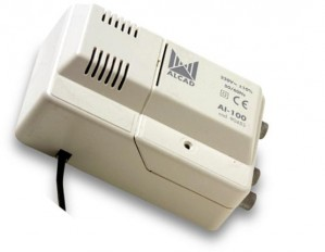 Wzmacniacz Alcad CA-210 VHF-UHF 1we/2wy wielozakresowy
