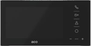 ACO GLASS-PRO-7 BK Monitor Familio COMO PRO 7''