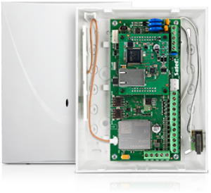 Moduł komunikacyjny SATEL GSM-X LTE (w zestawie z obudową i anteną)