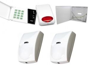Alarm Satel CA-4 LED, 2xBINGO, syg. zew. SPL-5010R