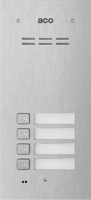 ACO COMO-PRO-A4 panel podtynk 4-lokatorski