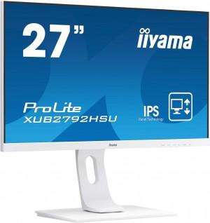 "Monitor LED IIYAMA XUB2792HSU-W1 C 27"" Pivot Ultra Slim Biały"