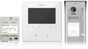 Wideodomofon VIDOS DUO M1022W / S1101A