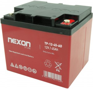 Akumulator Nexon Gel 12V 45Ah