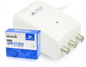 Zasilacz antenowy 2x12V Spacetronik SPP-I1202