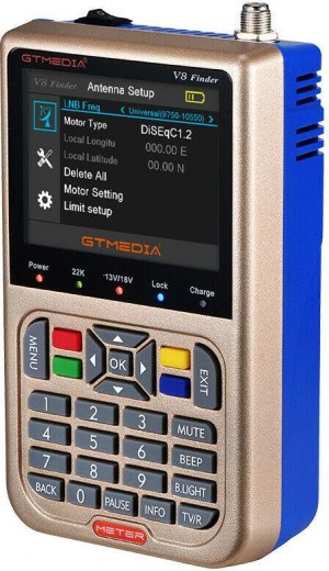 Miernik Digital Satellite Finder FreeSAT V8 ver.2