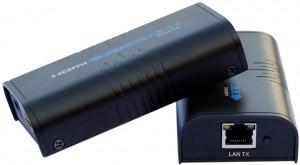 Przedłużacz extender HDMI po IP RJ45 LENKENG LKV373