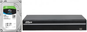 REJESTRATOR IP DAHUA NVR5216-4KS2 + DYSK 2 TB