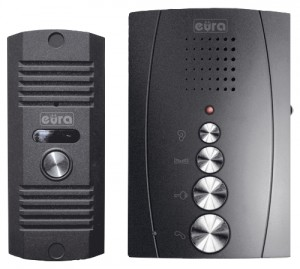 Domofon EURA ADP-12A3 ''INVITO' głośnomówiący, bezsłuchawkowy