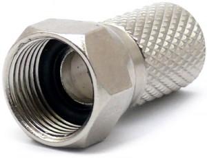 Złącze F 6.8 mm z uszczelką