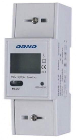 WSKAŹNIK ZUŻYCIA ENERGII ORNO OR-WE-503/OR-04Y