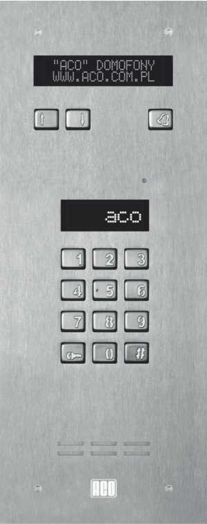 ACO INSPIRO 3+ Centrala Master, do 1020 lokali, LCD