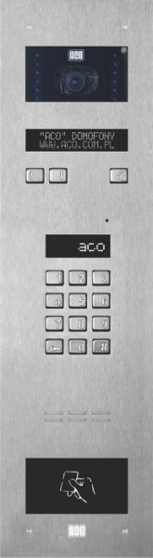 ACO INSPIRO 5S Panel cyfrowy z elektroniczną listą i czytnikiem zbliżeniowym