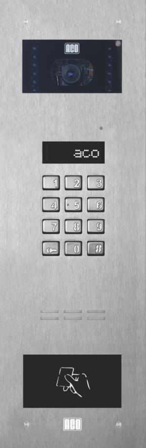 ACO INSPIRO 6S+ Centrala Slave, do 1020 lokali, LCD, CDNVK, RFID do 6144 breloków